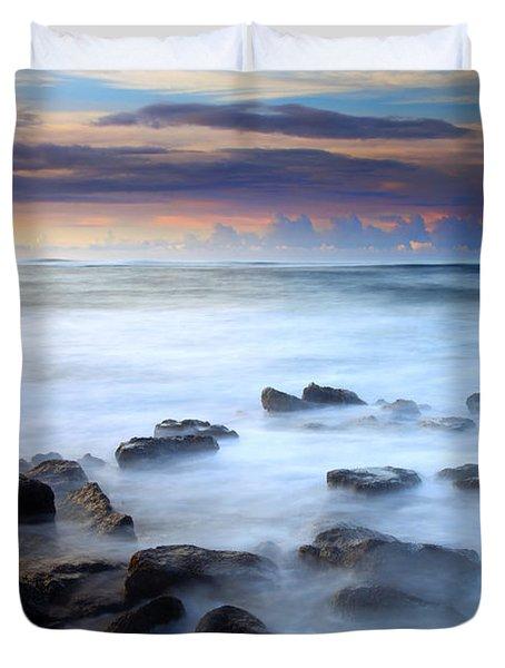 Koloa Dawning Duvet Cover by Mike  Dawson