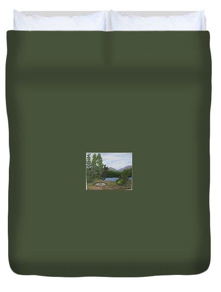 Kootenay Lake Bc Duvet Cover