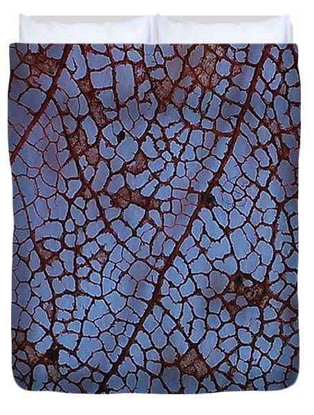 Lace Leaf 1 Duvet Cover