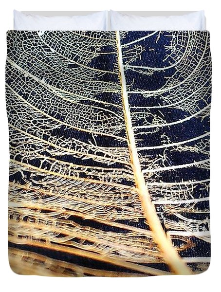 Lace Leaf 4 Duvet Cover