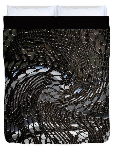 Lacey Abstract2 Duvet Cover