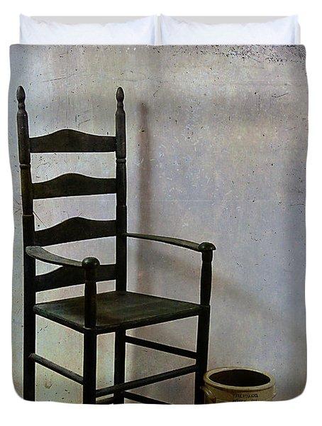 Ladderback Duvet Cover by Judi Bagwell