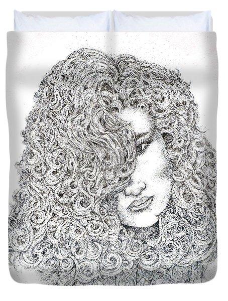 Curls Duvet Cover