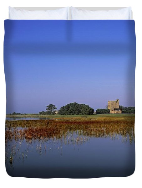 Ladys Island, Co Wexford, Ireland Site Duvet Cover by The Irish Image Collection