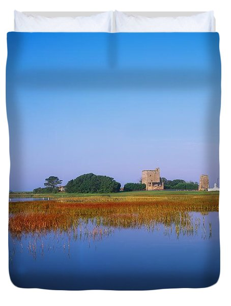 Ladys Island, Co Wexford, Ireland Duvet Cover by The Irish Image Collection