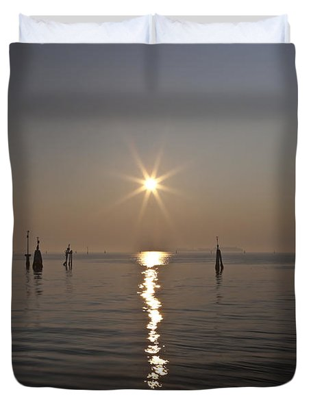 lagoon of Venice Duvet Cover by Joana Kruse