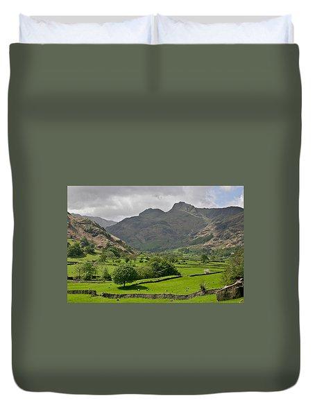 Lake District England Duvet Cover