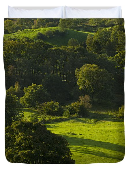 Lake District National Park, Cumbria Duvet Cover by Axiom Photographic