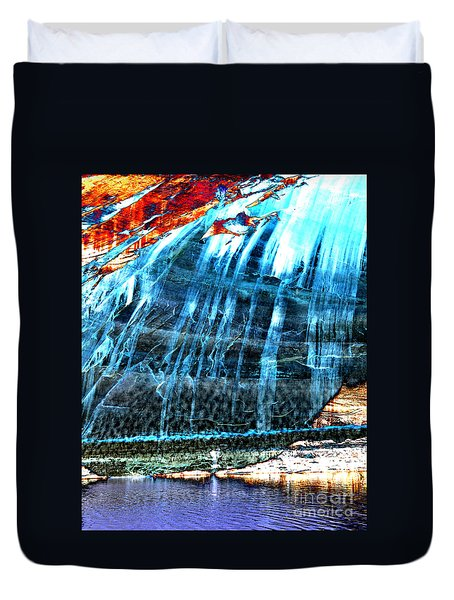 Lake Powell Reflection Duvet Cover