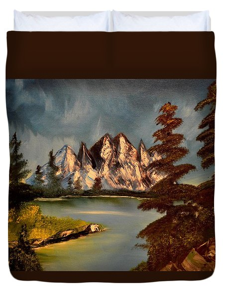 Lakeview Duvet Cover by Maria Urso