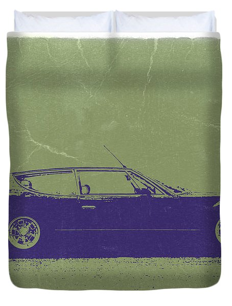 Lamborghini Espada Duvet Cover