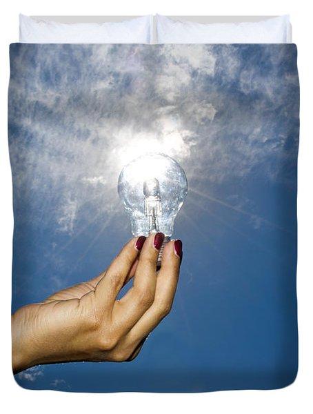 Lamp Bulb Duvet Cover
