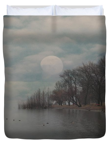 Landscape Of Dreams Duvet Cover by Joana Kruse
