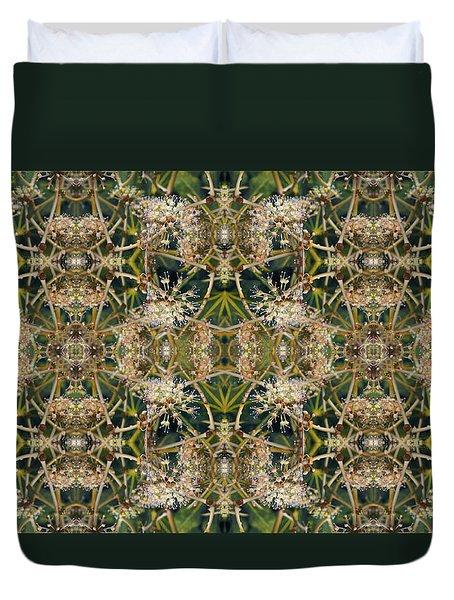 Lattice Duvet Cover
