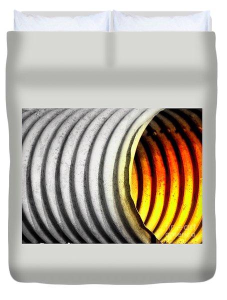Lava Tube Duvet Cover by Joe Jake Pratt