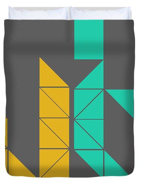 Le Corbusier Quote Poster Duvet Cover