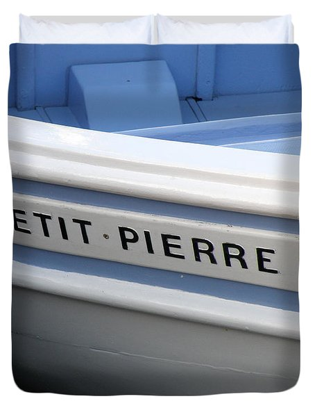 Duvet Cover featuring the photograph Le Petit Pierre II by Lainie Wrightson
