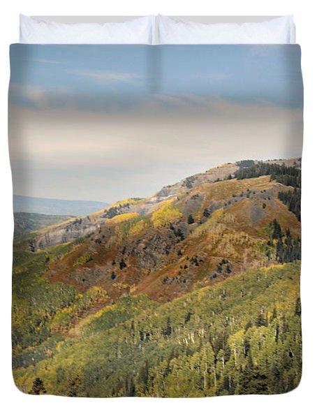 Lead King Basin Road 2 Duvet Cover by Marty Koch