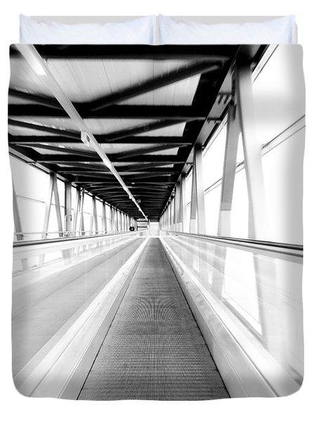 Leading Lines Duvet Cover