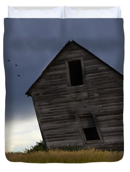 Leaning A Little 2 Duvet Cover by Bob Christopher