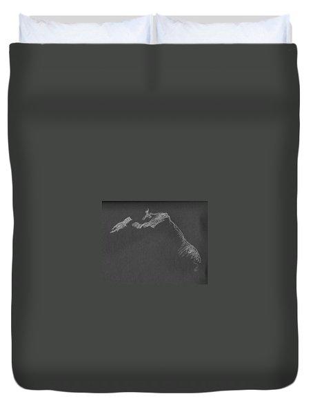 Leaning Duvet Cover