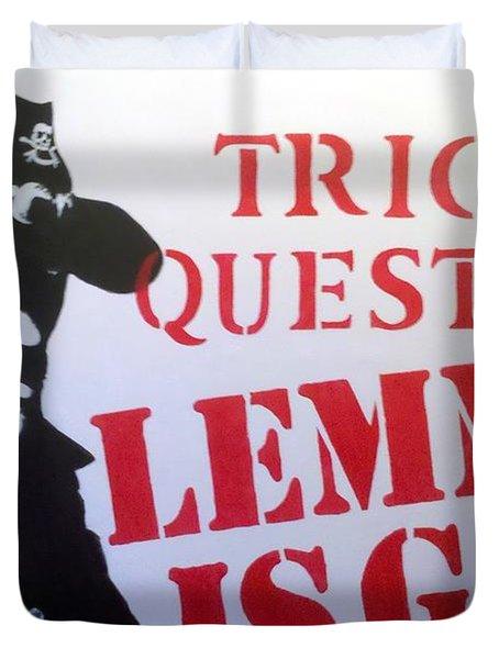 Lemmy Duvet Cover