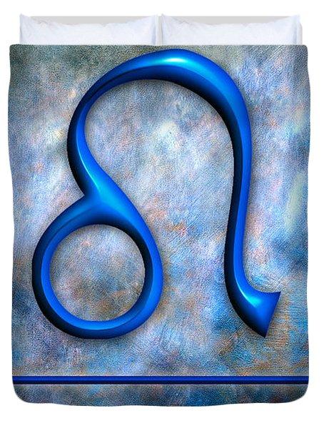 Leo  Duvet Cover by Mauro Celotti