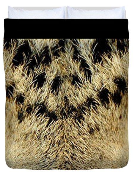 Leopard Eyes Duvet Cover by Sumit Mehndiratta