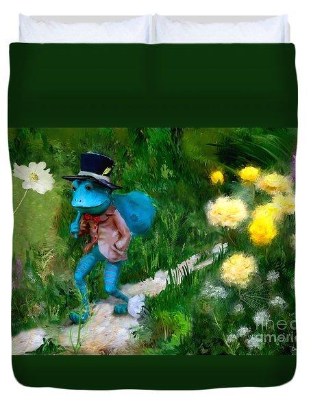 Lessons In Lifes Garden Duvet Cover