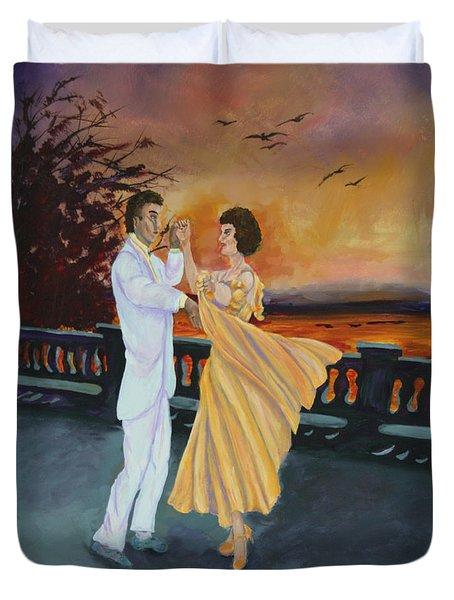 Let's Dance Duvet Cover