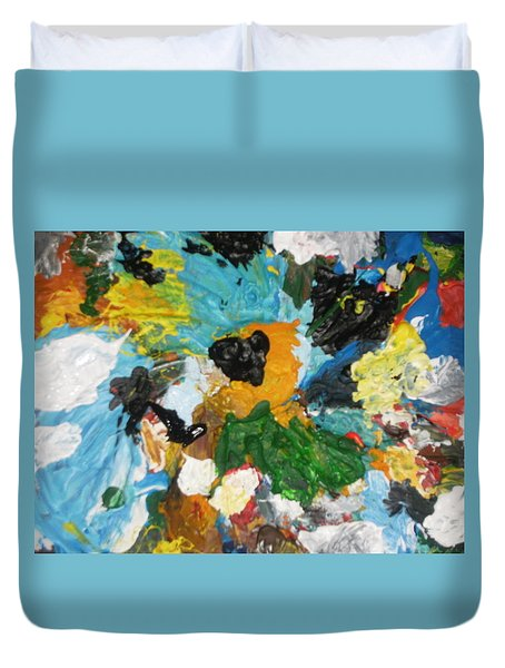 Lets Go Swirly Duvet Cover by Mudiama Kammoh