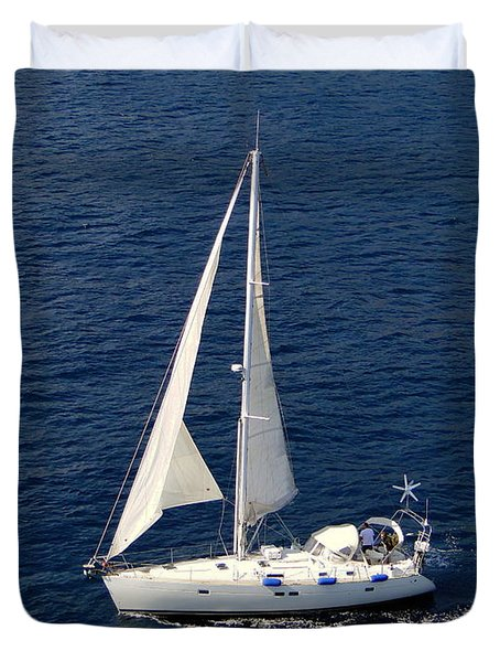 Lets Sail Away Duvet Cover