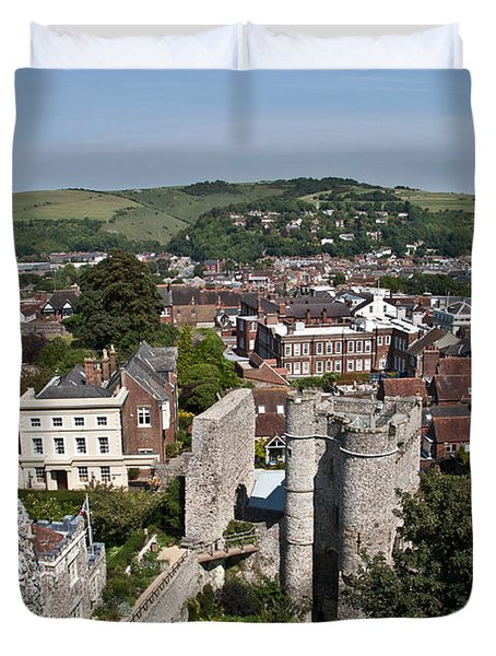 Lewes East Sussex Duvet Cover by Dawn OConnor