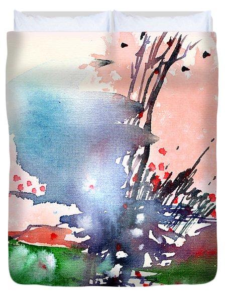 Light 2 Duvet Cover by Anil Nene