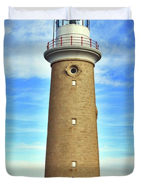 Light House At Cape Du Couedic Duvet Cover