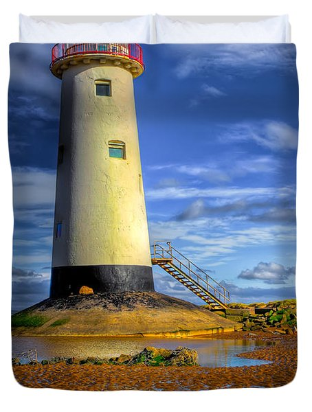 Lighthouse Duvet Cover by Adrian Evans