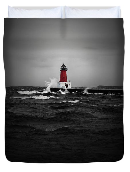 Lighthouse Glow Duvet Cover