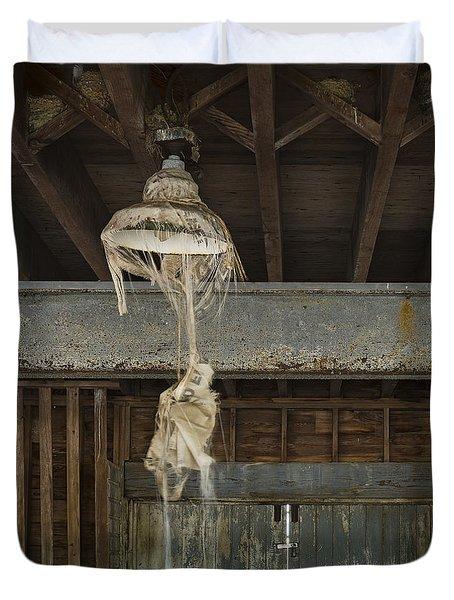 Lights Out Duvet Cover by John Greim