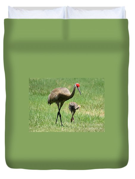 Like Father Duvet Cover by Carol Groenen