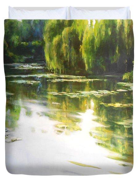 Lilly Lake Duvet Cover