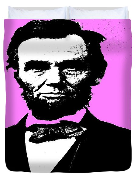 Duvet Cover featuring the digital art Lincoln by George Pedro