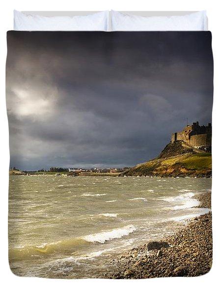 Lindisfarne Castle, Holy Island Duvet Cover by John Short