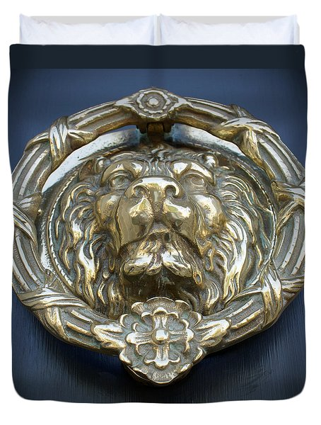 Lions Gate Duvet Cover