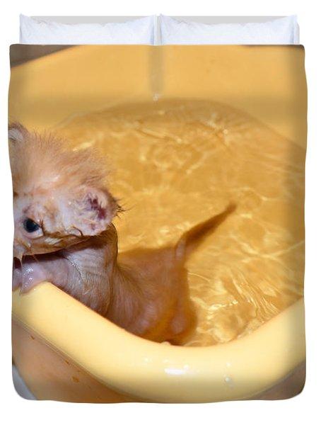 Little Bath Duvet Cover