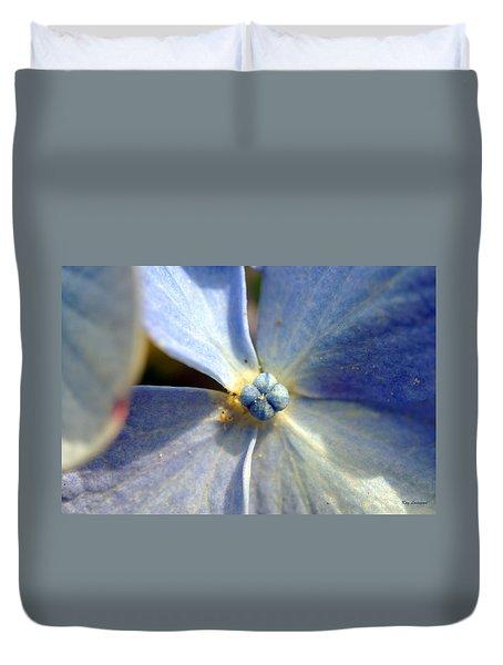 Little Blue Flower Duvet Cover