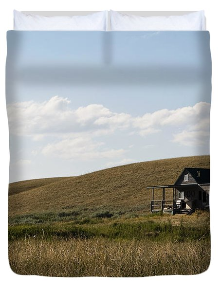 Little House On The Plains Duvet Cover