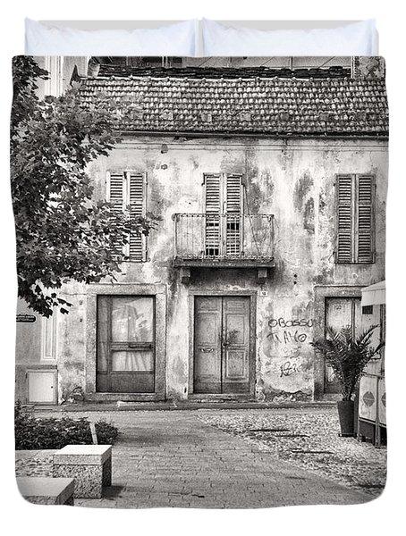 Little Italian Corner Duvet Cover