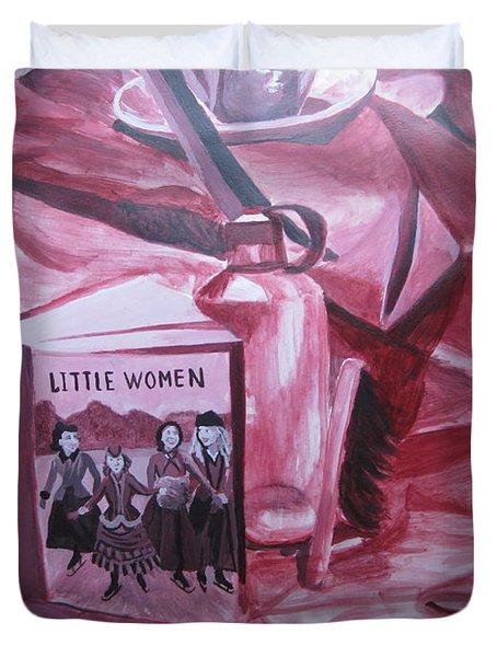 Little Women Duvet Cover