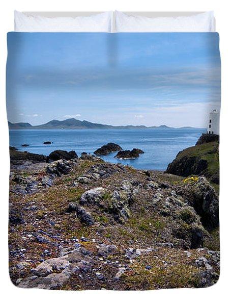 Llanddwyn Island Duvet Cover by Meirion Matthias
