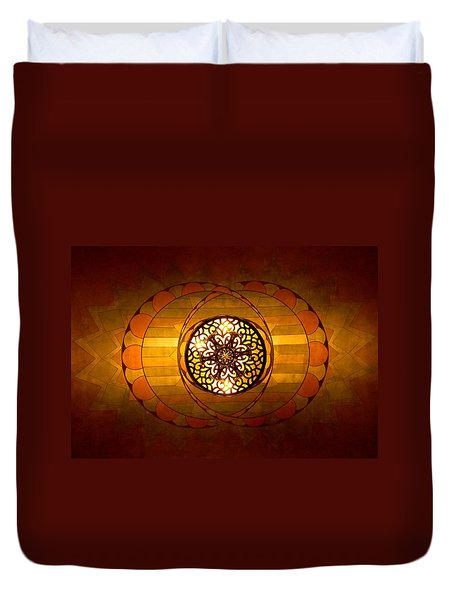 Lobby Lighting Duvet Cover by Accent on Photography